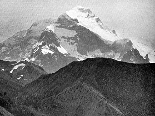 Aconcagua in 1897, from 'The Highest Andes' by E. A. FitzGerald