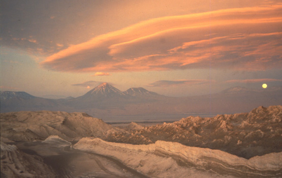Patagonia South America >> Andes Website - Photos of sunsets and sunrises in South ...